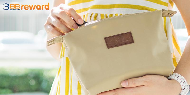 กระเป๋าพกพาสุดคิวท์ พกพาใส่ของไปกับคุณได้ทุกที่
