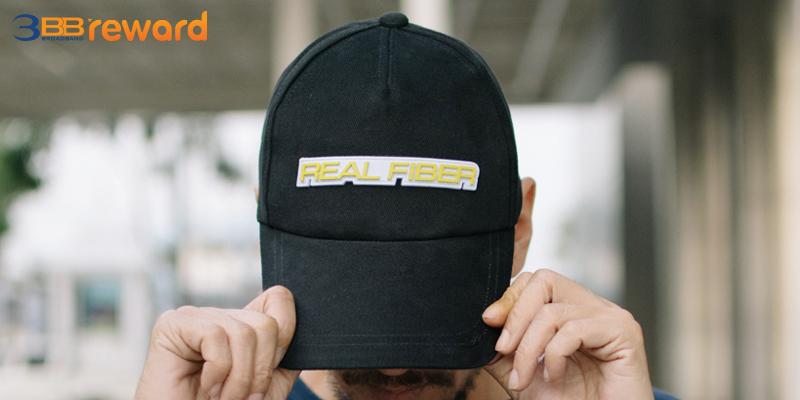 หมวกสุดฮิป Real Fiber