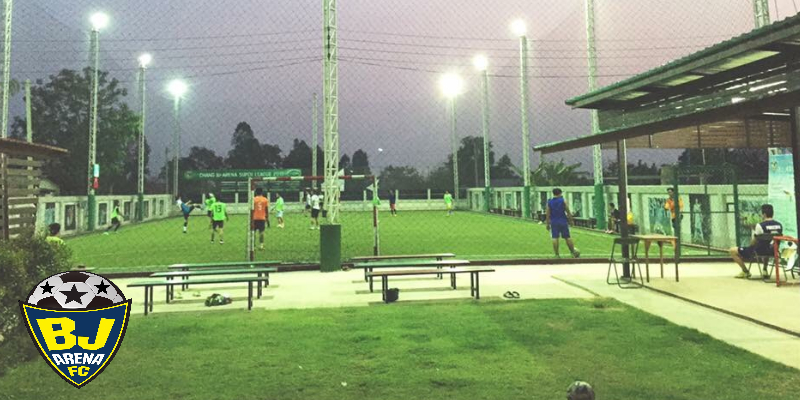 BJ Arena สนามฟุตบอลหญ้าเทียม