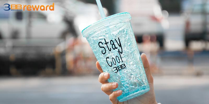 แก้วฟรุ้งฟริ้ง Stay Cool