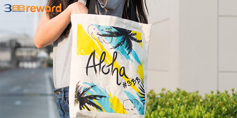 กระเป๋าผ้า ALOHA  Bag