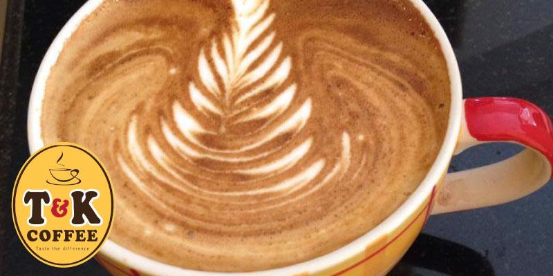 รับฟรีเครื่องดื่ม 1 แก้ว เมื่อซื้อเครื่องดื่มครบ 10 แก้วใบบิลเดียว ที่ T&K Coffee จ.น่าน