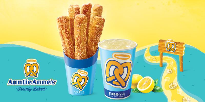 170 พอยต์ รับฟรี Premium Stix 1 กล่อง และ Lemonade 16 ออนซ์ 1 แก้ว (มูลค่า 94 บาท)