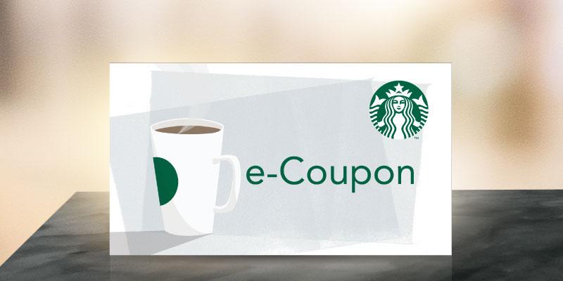 200 พอยต์ แลกรับ Starbucks e-Coupon มูลค่า 100 บาท