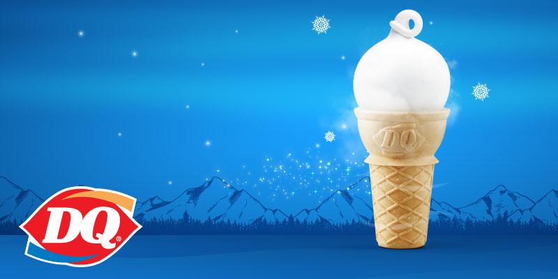 30 พอยต์ รับฟรีไอศกรีมโคน ที่ร้านแดรี่ควีน