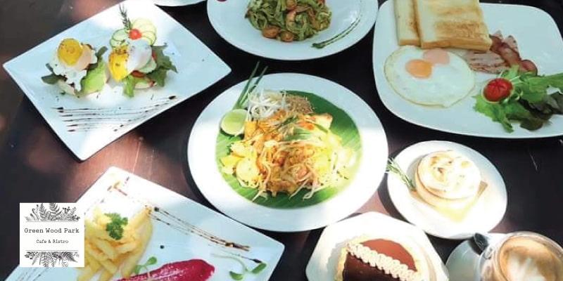 ส่วนลด 15% เมื่อทานอาหารและเครื่องดื่มครบ 500 บาท ที่ GREEN WOOD PARK CAFE & BISTRO จ.เชียงใหม่
