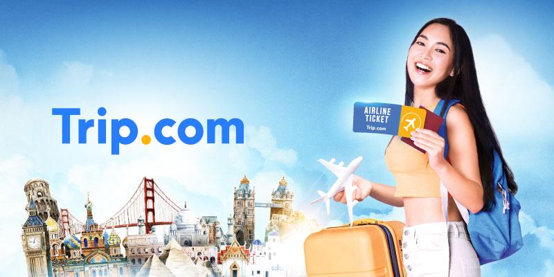 ส่วนลดสูงสุด 100 บาท สำหรับจองเที่ยวบินผ่าน Trip.com